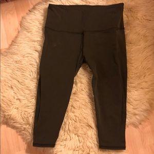 Olive Lululemon leggings
